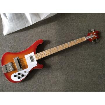 Custom Made 4003 Cherry Sunburst Maple Fretboard 4 String Bass