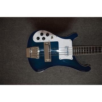 Custom Made Left Handed Midnight Blue 4003 Bass Alder Body No Inlay
