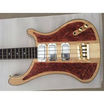 Custom Lemmy Kilmister  4003 Natural Gold Hardware Bass
