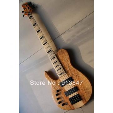 Custom Fordera Lefty Natural 5 Strings Electric Bass
