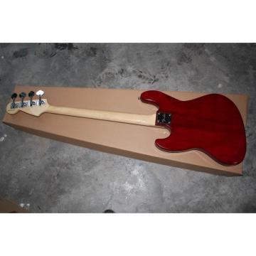 Custom Fender Brick Red Presicion Bass