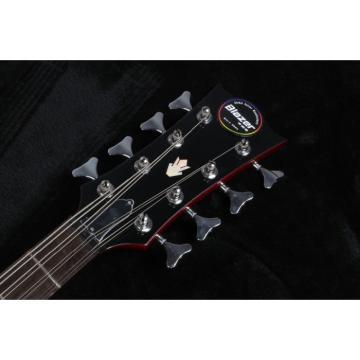Custom Built EB-3 SG Standard Red 4 String Bass