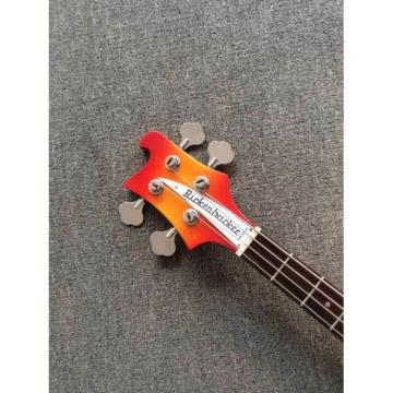 Custom Build Rickenbacker Paul McCartney's 1964 4001 Lefty Bass Psychedelic Paint