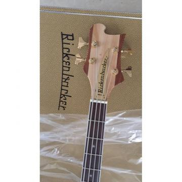 Custom Build Lemmy Kilmister  Rickenbacker 4003 Matte Carved Natural Bass