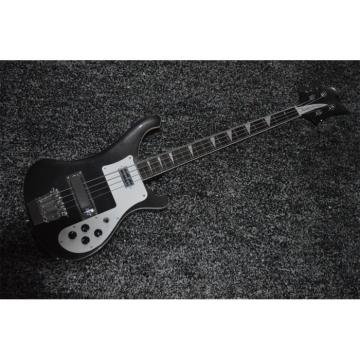 Custom Build Jetglo 4003 Rickenbacker Black 4 String Bass