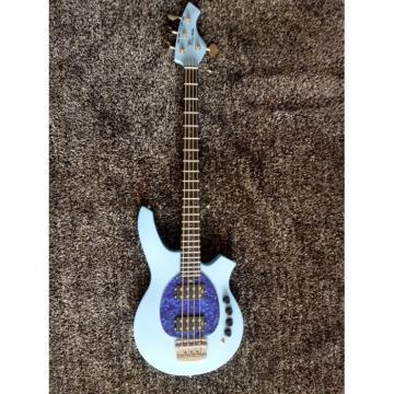 Custom Bongo Music Man Sky Blue 4/5 String Passive Pickups Bass