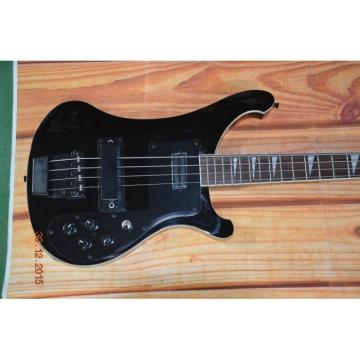 Custom 4003 Shop Rickenbacker Jetglo Black Hardware Bass