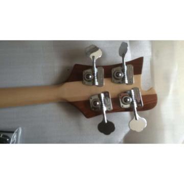 Custom 4003 Naturalglo Checkerboard Bindings Neck Thru Body Rickenbacker Bass