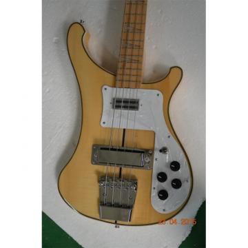 Custom 4003 Black Midline Mapleglo Maple Fretboard Checkerboard Binding Bass