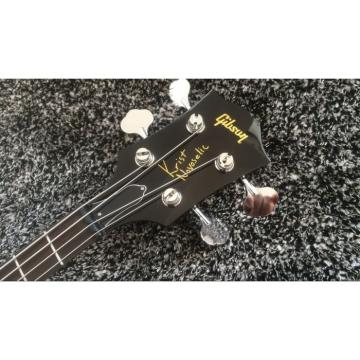 Custom Thunderbird Krist Novoselic Black 4 String Bass