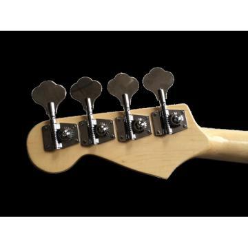 Custom Shop Sparkle Silver Dust Metallic Blue Jazz P Bass Guitar