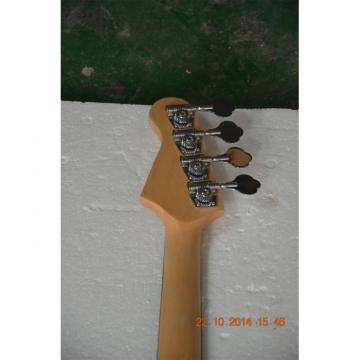 Custom Shop Sparkle Purple Jazz Silver Dust Metallic P Bass Guitar