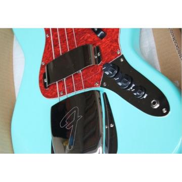 Custom Shop Sonic Blue Geddy Lee 4 String Jazz Bass