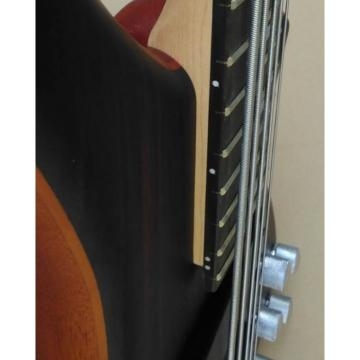Custom Shop Sapelle Rosewood Top Natural 5 String Electric Bass Wenge