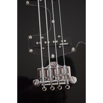 Custom Shop Thunderbird Krist Novoselic Black 4 String Bass Wilkinson Parts
