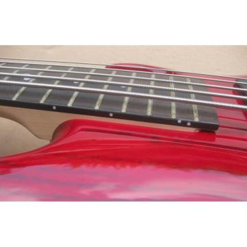 Custom Shop Red Ashwood 5 String Electric Bass