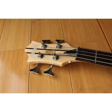 Custom Shop Languedoc 4 String Bass Natural Neck Through Body