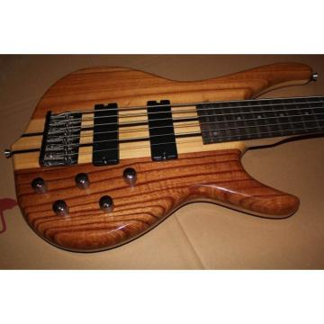 Custom Shop Natural 6 String Ken Smith Bass