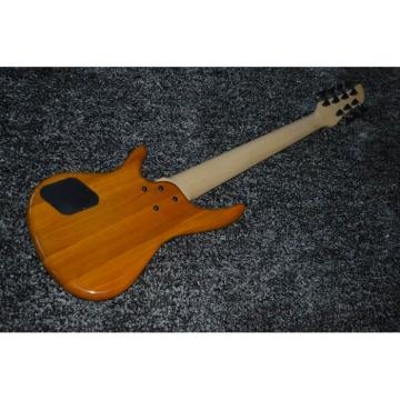 Custom Shop H&S Sequoia 7 String Fretless Natural Bass