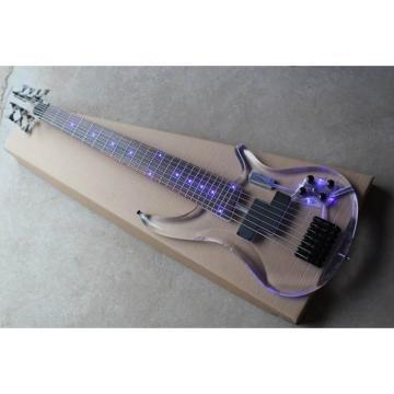 Custom Shop H&S Sequoia 7 String Acrylic LED Bass