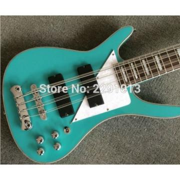 Custom Shop Musicvox Teal 8 String Bass