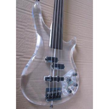 Custom Shop H&S Sequoia 4 String Acrylic LED Bass