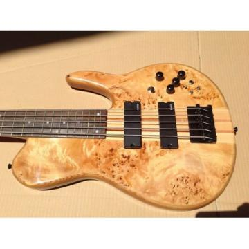 Custom Shop Fordera 5 String Bass Natural