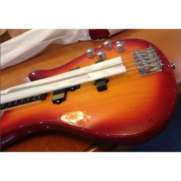 Custom Shop Fireglo 5 String Electric Bass