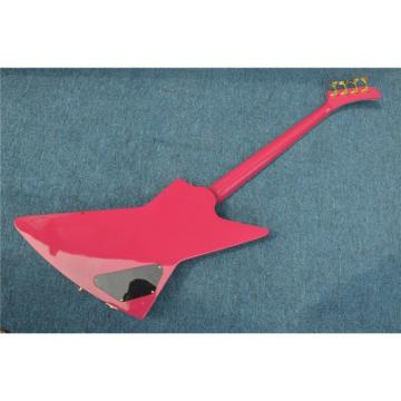 Custom Shop Explorer Sea Foam Green Teal 4 String Bass Left Handed