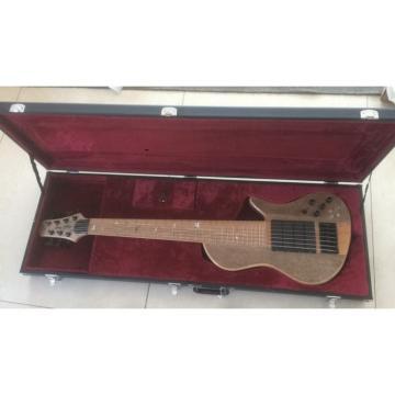 Custom Shop Ash Wood Neck Through Body Birds Eye 7 String Bass