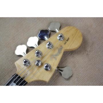 Custom Shop Ash Wood 5 String Jazz Bass Red Pearloid Pickguard