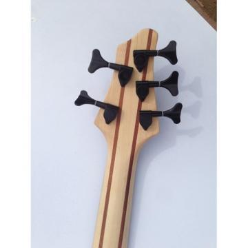 Custom Shop 5 String Bass Natural Brown Black Hardware Strinberg