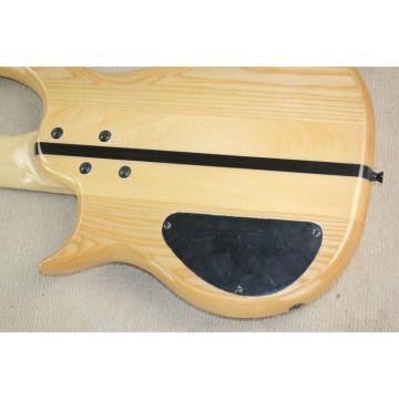 Custom Shop 5 Strings Warrior Flame Maple Top Bass