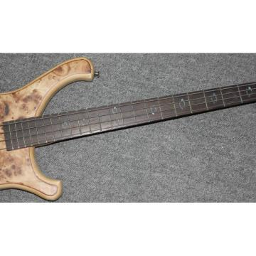 Custom Shop 4 String Bass Birds Eye Wood