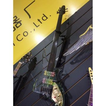 Custom Shop 5 String Acrylic LED Bass Fretless
