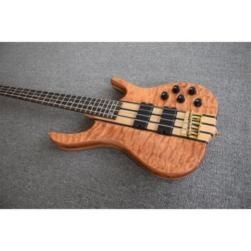 Custom Shop 4 String Ken Smith Natural Bass