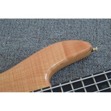 Custom Shop 5 String Natural Finish Bass