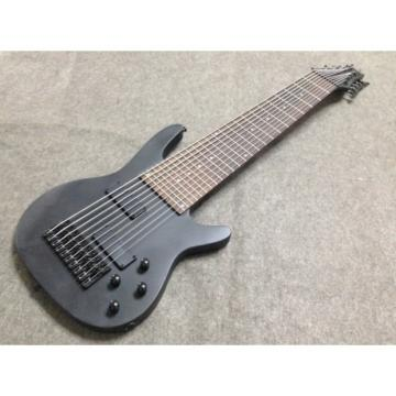 Custom Shop 10 String Electric Bass Black Color
