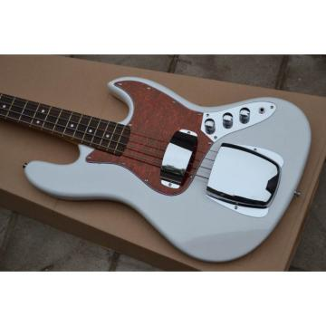 Custom Fender Pearl White Jazz Bass Guitar