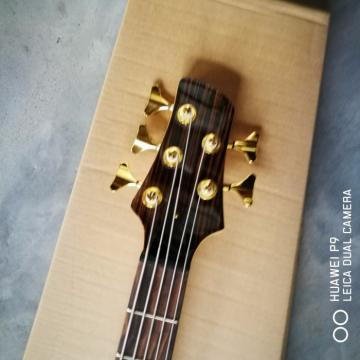 Custom Built Butterfly Fodera 5 Strings Bass Zebra Finish
