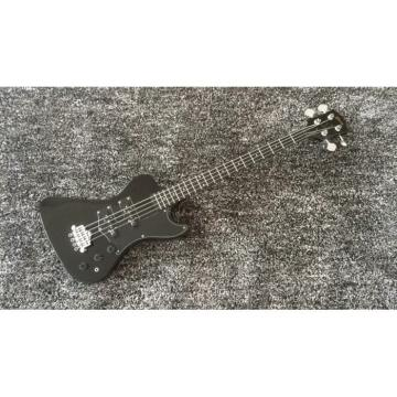Custom Build Thunderbird Krist Novoselic Black 4 String Bass Ebony Fretboard