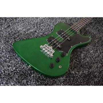 Custom Build Thunderbird Krist Novoselic 4 String Bass Metallic Green