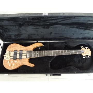 Custom Build 6 String Quilted Maple Top Ken Smith Bass