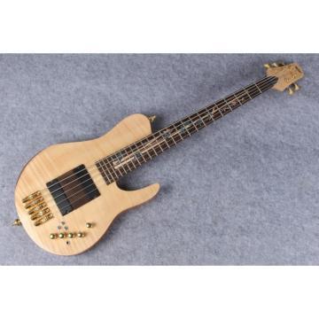 Custom American Standard 5 String Bass Fordera Finger Ramp