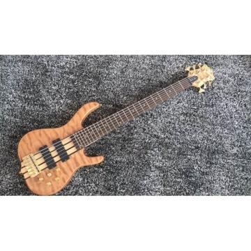 Custom Build 6 String Quilted Maple Ken Smith Bass