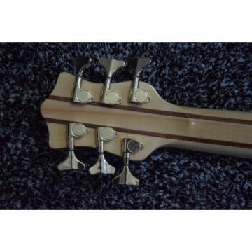 Custom Build 6 String Natural Maple Top Ken Smith Bass