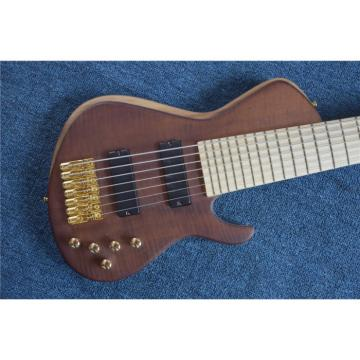 Custom American Standard 7 String Quilted Bass