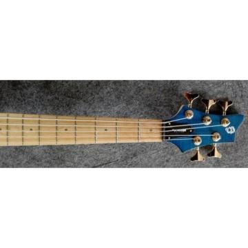 Custom 6 String Active Pickups Led Bass Guitar