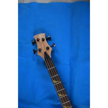 Custom 4 String Cobra Snake Hand Painted Electric Bass Carved Japan Parts