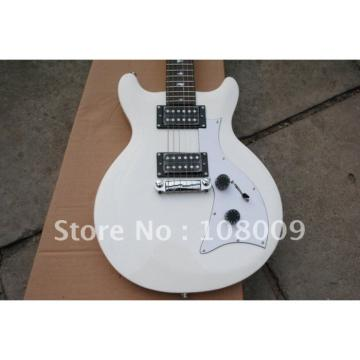 White PRS Mira Bird Inlay 2 Zebra Pickups Electric Guitar